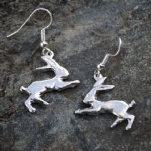 Hare earrings E49